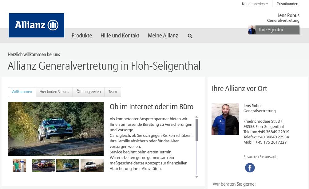 Allianz Generalvertretung in Floh-Seligenthal